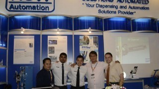 ViscoTec at the exposition in Manila