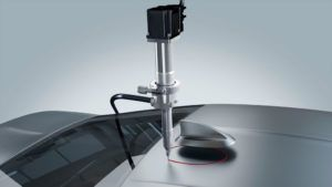 Antenna bonding with ViscoTec dispensing system - adhesive dispensing in automotive application