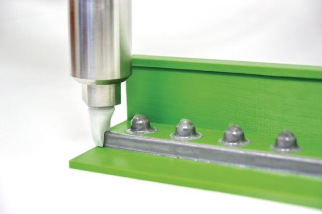 Aerospace sealing application with ViscoTec dispenser